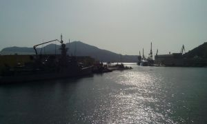 Puerto de Cartagena 20/10/2014.