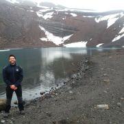 Lago Irizar en Isla Decepción.