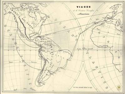 Expediciones Comisión Científica del Pacífico. Fuente: http://www.pacifico.csic.es/uym3/default.htm.
